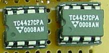 A pair of TelCom MOSFETs