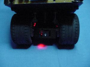 Bugdozer's tail light