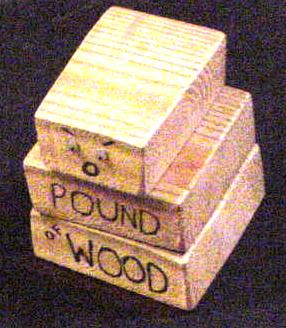 Bugdozer vs. out-of-the-way Pound Of Wood
