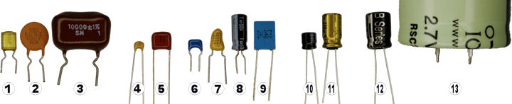 Capacitors tested