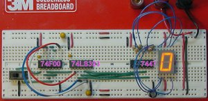 Implementation of the Switch Counter Numeric Display