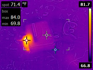 Nintendo 64 powered off infrared
