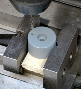 Drilling Screw Holes In A Cylinder On A Milling Machine