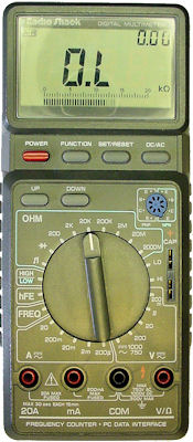 RadioShack 22-168A digital multimeter