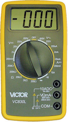 Victor VC830L digital multimeter