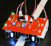Open Face Sandwich robot with red PCB