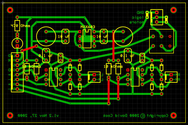 Making Printed Circuit Boards - Robot Room