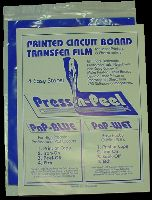 Techniks Press-n-Peel Blue transfer film