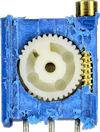 Insides of a trimpot with gears