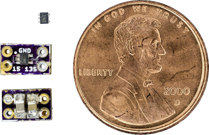 Tiny chip makes a tiny voltage regulator