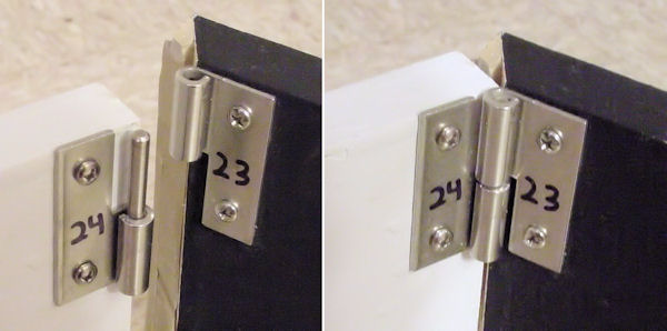 Numbered brackets make assembly fast and consistent