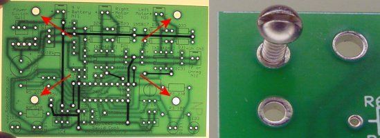 robot room roundabout pcbs assembly tips rh robotroom com PCB Mounting Clip PCB Mounting Socket Wiring Diagram