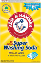 Arm and Hammer Washing Soda (image courtesy of Arm and Hammer)