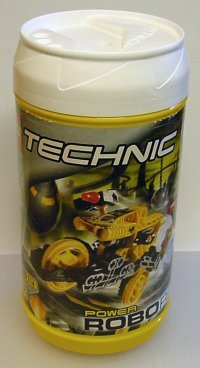 Lego Technic Roborider packaging canister 8514.