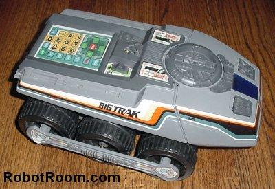 inside the big trak robot room big trak toy circa 1979