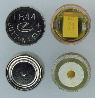 Digital Caliper Capacitor Instead Of Sr44 Or Lr44 Battery