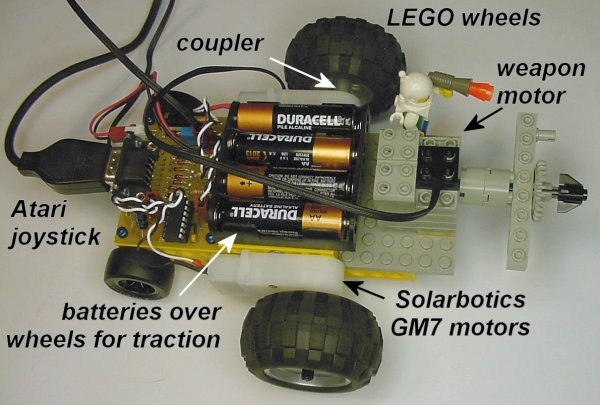 Atari Joystick Wired Remote Control for Robots, Page 5