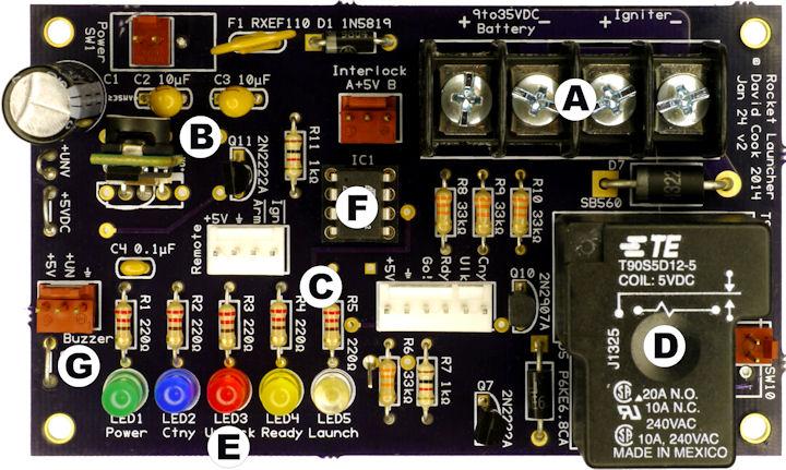 Model Rocket Igniter Controller Robot Room