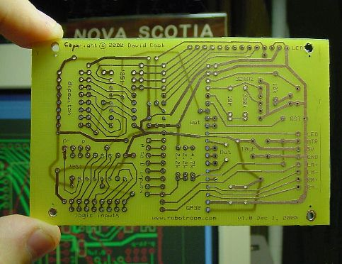 Double-Sided Printed Circuit Boards - Robot Room