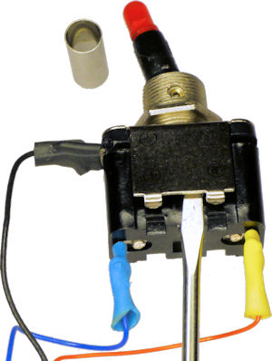 Pilot Safety Cover Toggle Switch - Robot Room