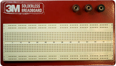 together with Mjyhw moreover Breadboard With Ic X besides M Solderless Breadboard With Three Binding Posts And Tie Points further . on how to use breadboard circuits